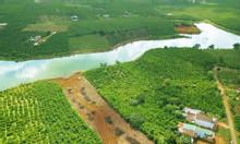 Đất ven hồ DT lớn 4872m2, có 400m2 thổ, sổ riêng công chứng ngay.