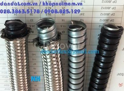 Ống ruột gà inox 304, ong ruot ga inox, ống luồn dây điện, ống ruột gà