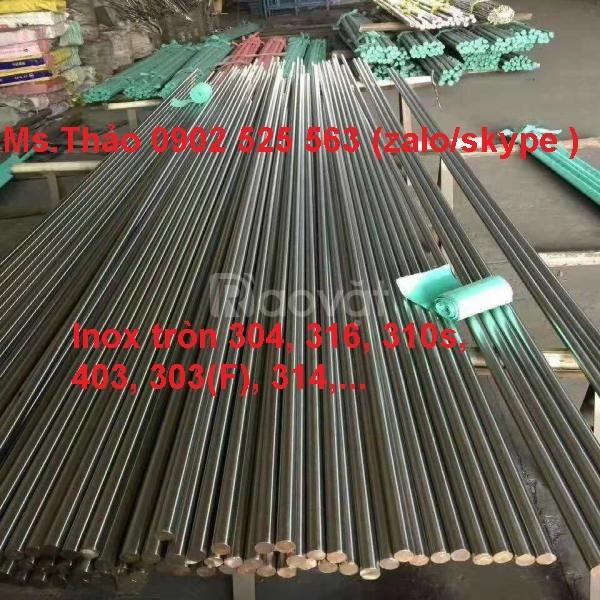 Inox không gỉ láp tròn, hàng xuất xưởng nhà máy  (ảnh 1)