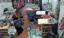Cần tuyển 3 thợ may quần áo cotton hàng chợ tại Long Biên