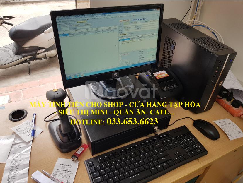 Bán máy tính tiền cho cửa hàng bách hóa tại Tiền Giang (ảnh 4)