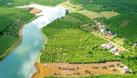 Đất ven hồ DT lớn 4872m2, có 400m2 thổ, sổ riêng công chứng ngay. (ảnh 4)