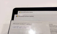Surface laptop 2 intel core i7 ram16gb ssd512gb