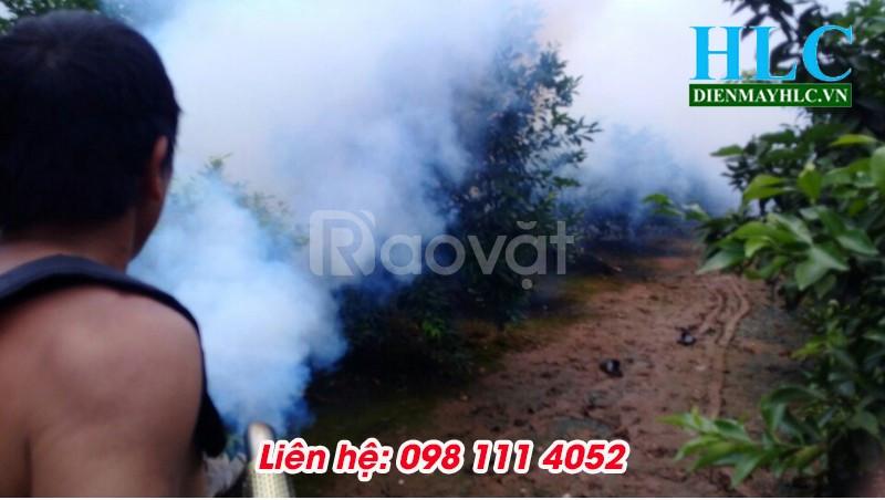 Sử dụng máy phun thuốc dạng khói Hoàng Long có tốt không