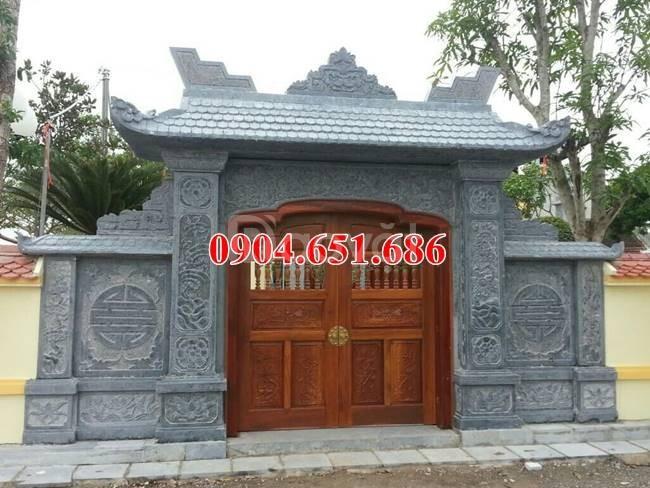 Cổng nhà thờ họ đẹp, Xây mẫu cổng tam quan nhà thờ họ bằng đá đẹp (ảnh 7)