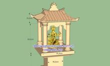 Mẫu ban thờ thần 4 mặt ở Việt Nam