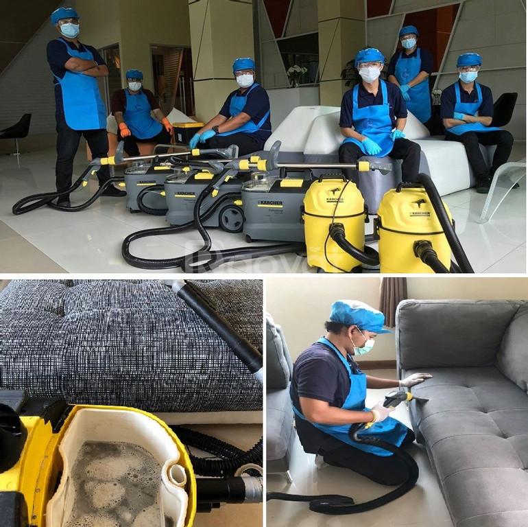 Dịch vụ vệ sinh màn cửa tại Thuận An Bình Dương