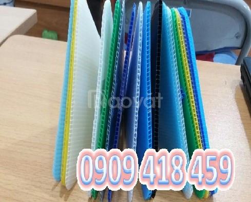 Tấm nhựa pp danpla màu xanh, tấm nhựa carton màu xanh