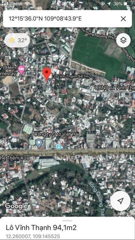 Bán đất Vĩnh Thạnh, Nha Trang giá rẻ