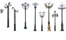 Trụ đèn trang trí sân vườn, công viên Ngọc Khôi!