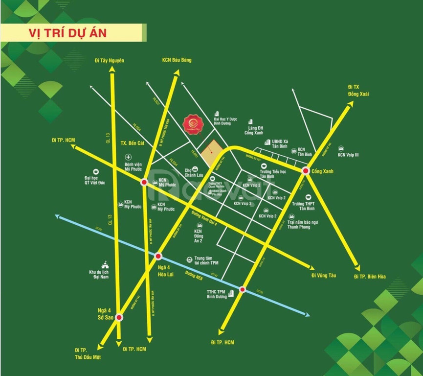 Bán đất Chánh Phú Hòa thị xã Bến Cát chiết khấu cao cho khách hàng  (ảnh 5)