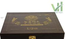 Nước đông trùng hạ thảo hộp gỗ đen 30ml x 60 gói