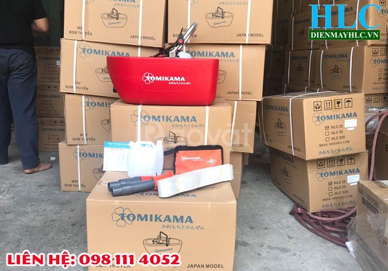 Máy bơm thuyền Tomikama 520 giá rẻ bơm nước tưới tiêu