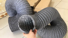 Ống gió mềm vải, ống gió vải, ống vải Tarpaulin, Fiber D200 thông gió. (ảnh 7)