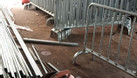 Hàng rào di động inox304, hàng rào mạ kẽm hàng có sẵn (ảnh 5)