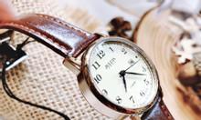 Đồng hồ nữ julius Hàn Quốc JA-508LC dây da có lịch ngày