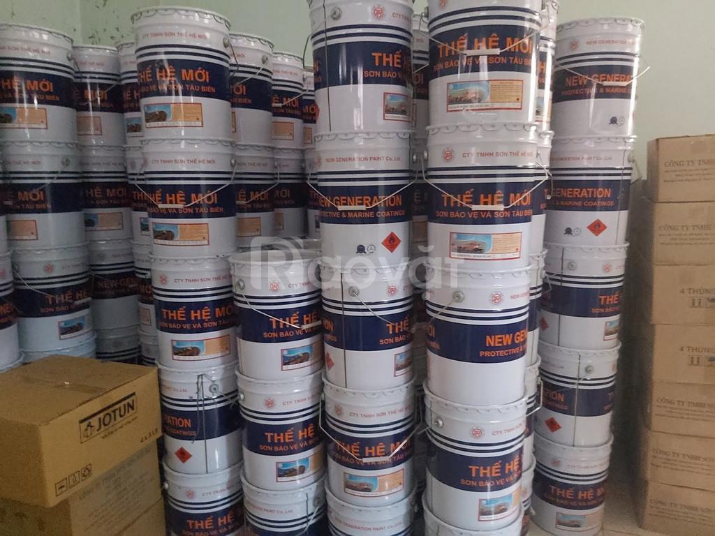 Cần mua sơn dầu thế hệ mới cho sắt thép giá tốt cho công trình