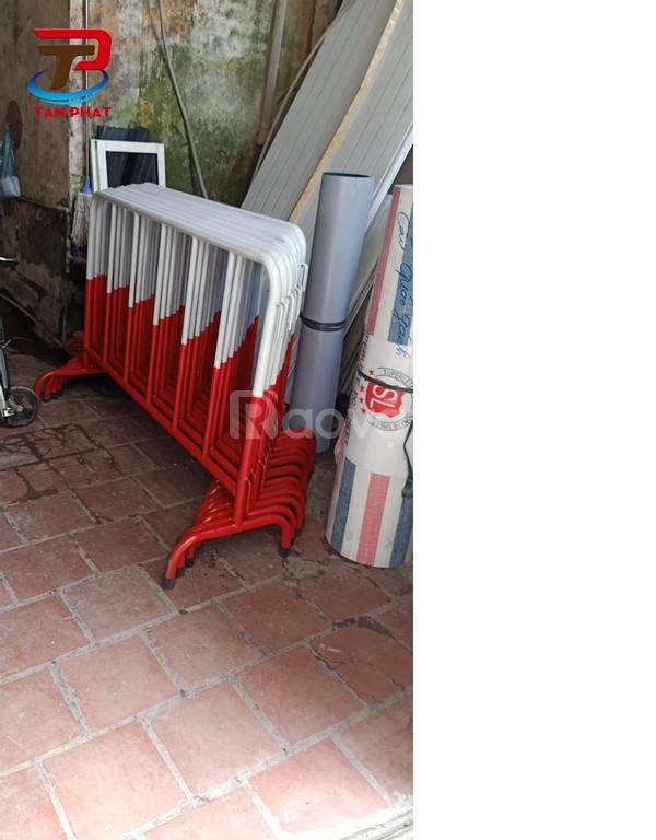 Hàng rào di động inox304, hàng rào mạ kẽm hàng có sẵn (ảnh 1)