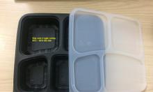 Ưu điểm mẫu hộp nhựa đen đựng thực phẩm dùng 1 lần