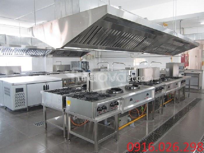 Thi công hệ thống hút mùi bếp nướng nhà hàng