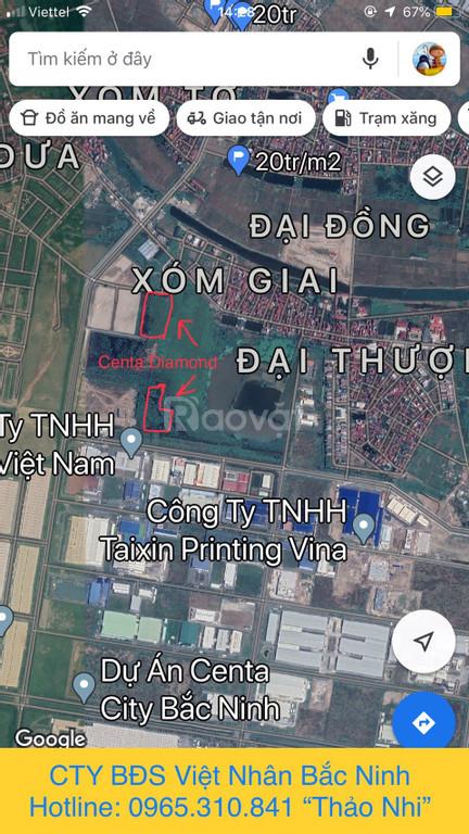 Bán nhà 4 tầng KĐT Centa Diamond, Từ Sơn, Bắc Ninh