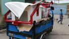 Mui lướt gió xe tải  composite (ảnh 5)