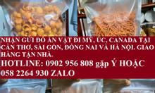 Nhận gửi thực phẩm đi Mỹ, Úc, Nhật Bản, Canada tại Sài Gòn