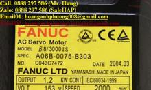 Ac servo motor Fanuc A06B-0075-B303