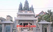 Xây mẫu cổng đình chùa nhà thờ tổ nhà từ đường bằng đá đẹp
