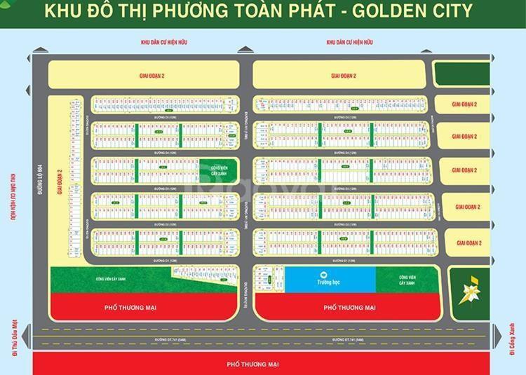 Đất nền Chánh Phú Hòa, Bến Cát gần chợ Chánh Lưu,KĐT Phương Toàn Phát  (ảnh 1)