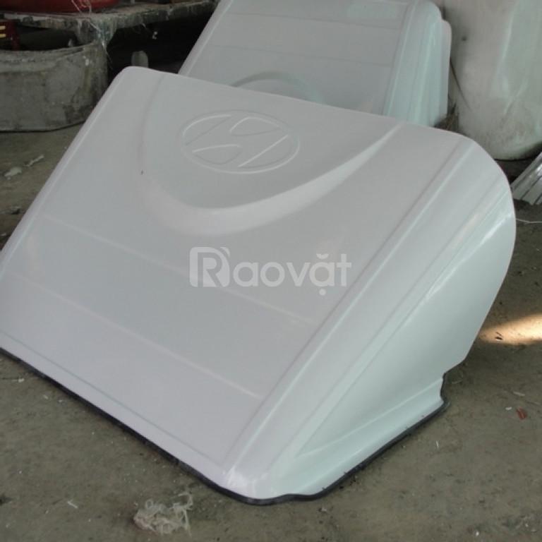 Mui lướt gió xe tải  composite (ảnh 4)