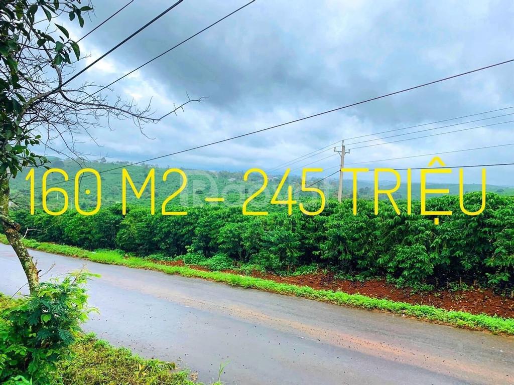 Đất thổ cư Bảo Lộc giá rẻ, 245tr/nền, DT từ 160m2-339m2, lên full thổ