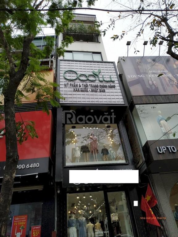 Bán nhà kinh doanh tốt mặt phố Chợ Hàng Cũ, Hải Phòng