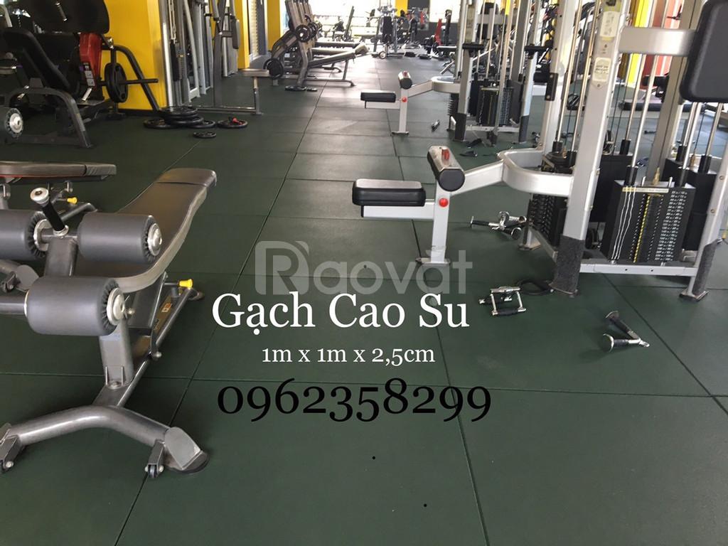 Thảm phòng tập gym