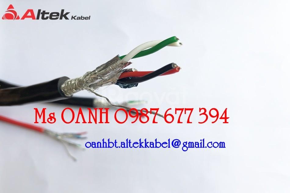 Cáp tín hiệu RS485 2 pair 18AWG  (ảnh 1)