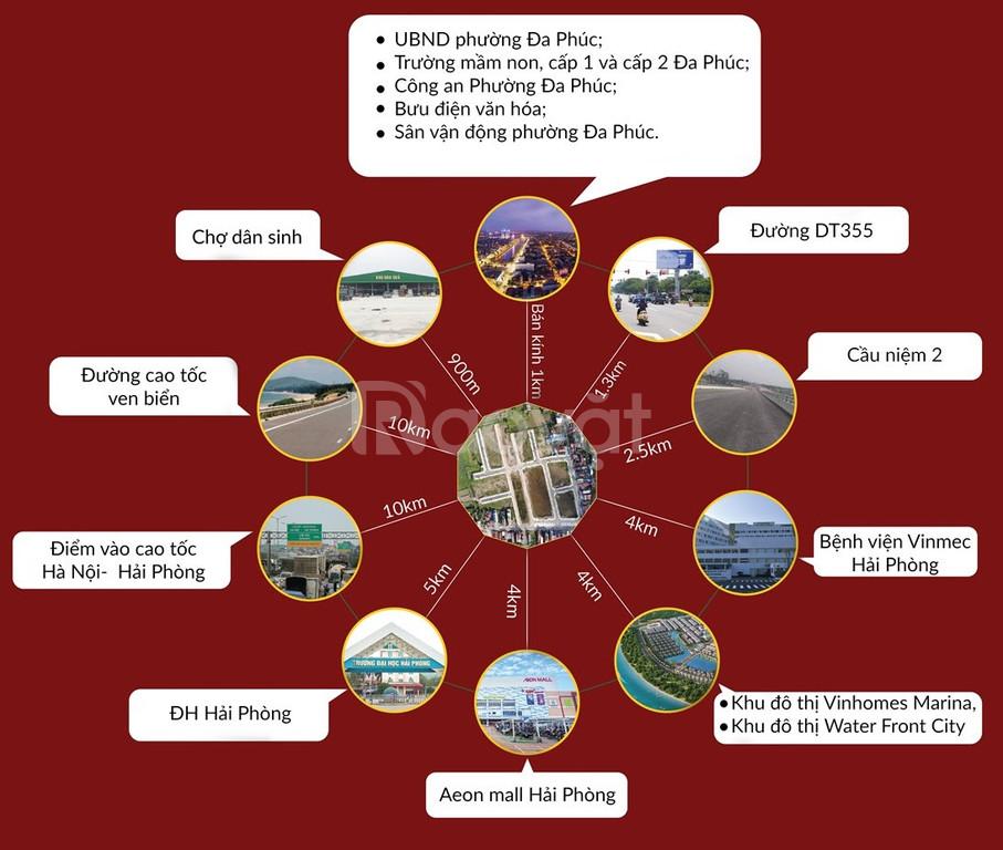Mở bán đất nền dự án Đa Phúc Dương Kinh Hải Phòng