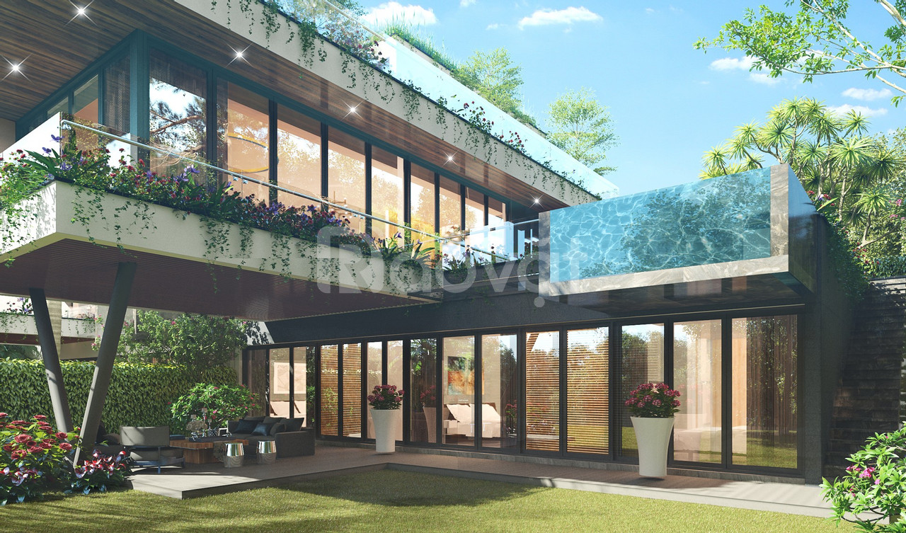 Bán biệt thự Luxury Legend Villas view hồ, 3N, 300m2 sổ đỏ