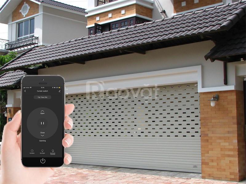 Bộ điều khiển cửa cuốn từ xa qua điện thoại CS01- DC