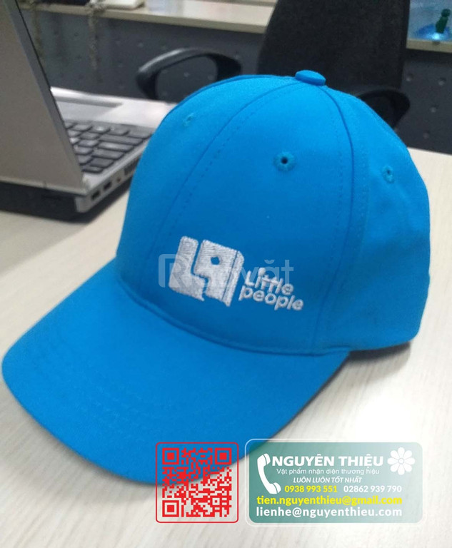 Thiết kế may nón giá rẻ, gia công mũ nón giá rẻ, in thêu mũ nón giá rẻ