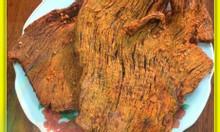 Khô bò miếng chuẩn hồng ngự túi zip 500g