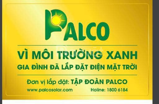 Tập đoàn Palco chuyên lắp đặt điện năng lượng mặt trời