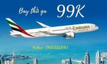 Vé máy bay khuyến mãi nội địa giá chỉ từ 99k
