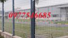 Lưới hàng rào mạ kẽm làm hàng rào bảo vệ làm ngăn kho (ảnh 5)