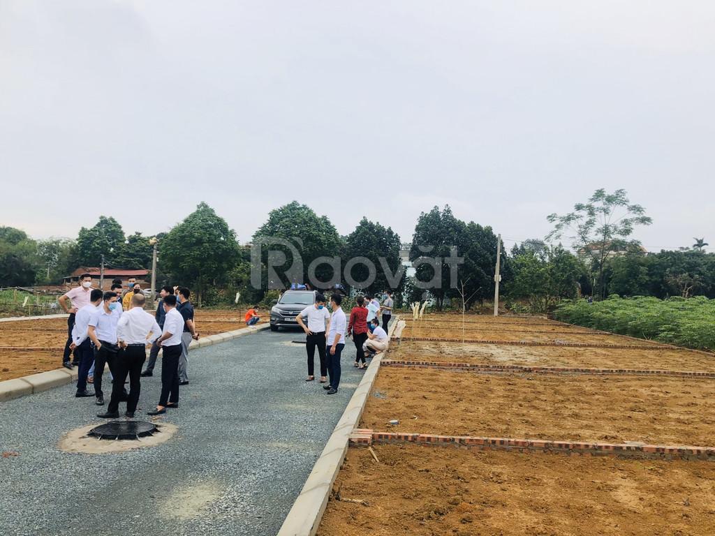 Bán đất nền trung tâm Hòa Lạc sổ đỏ trao tay 512.000.000 đ