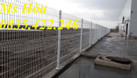 Chuyên sản xuất lưới thép hàng rào mạ kẽm, sơn tĩnh điện hàng có sẵn (ảnh 1)