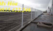 Chuyên sản xuất lưới thép hàng rào mạ kẽm, sơn tĩnh điện hàng có sẵn