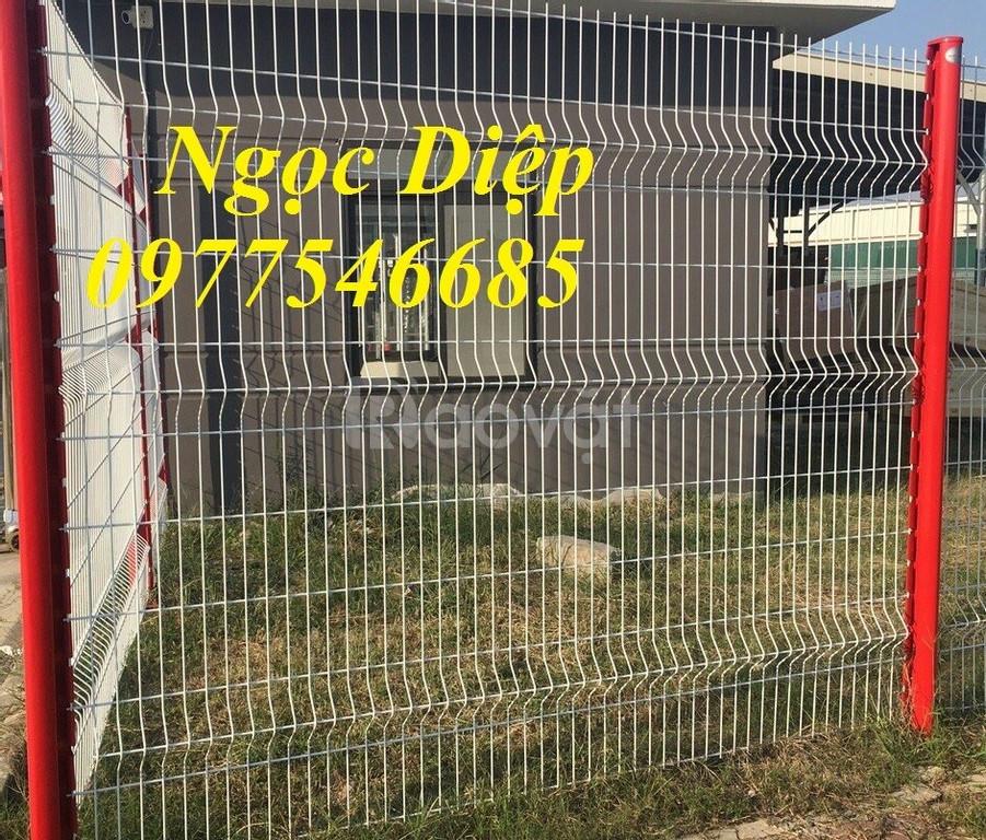 Lưới hàng rào mạ kẽm làm hàng rào bảo vệ làm ngăn kho (ảnh 6)