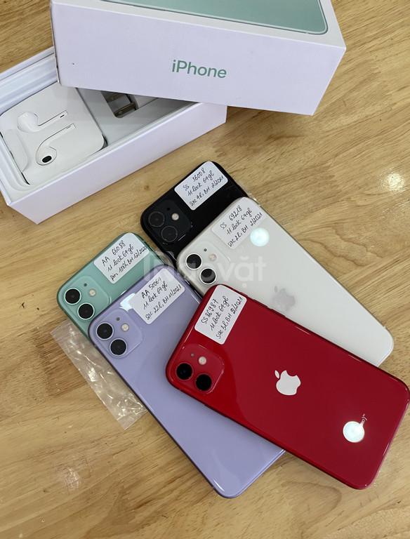 Iphone 11 bản lock 64gb đẹp như mới, Bh Apple dài 2021