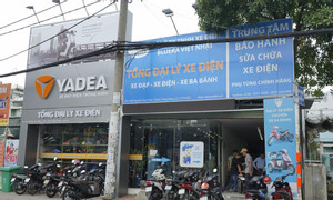 Cửa hàng bán xe đạp điện tại quận 2 lớn