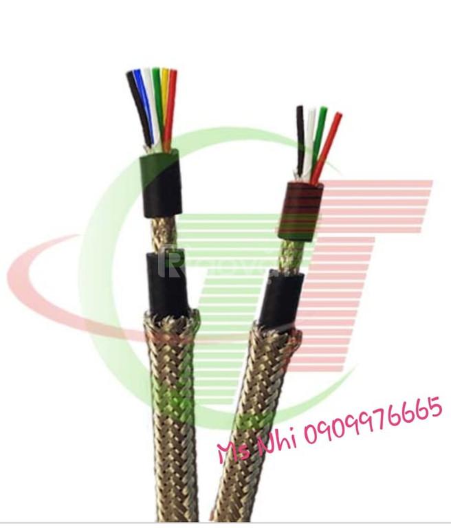 Cáp tín hiệu chống chuột vỏ lưới đồng 4C, 6C